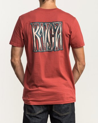 4 Gretta T-Shirt Red M401SRGR RVCA