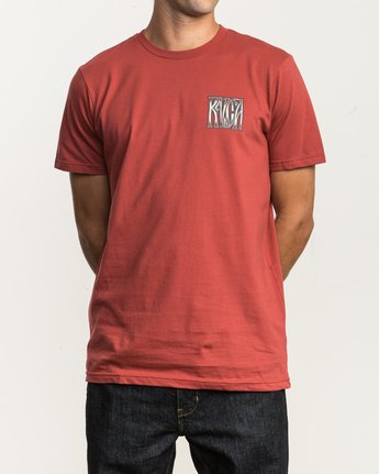 2 Gretta T-Shirt Red M401SRGR RVCA