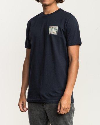 3 Gretta T-Shirt Blue M401SRGR RVCA