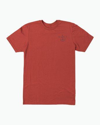 1 Pommier Grim Times T-Shirt  M401SRGT RVCA
