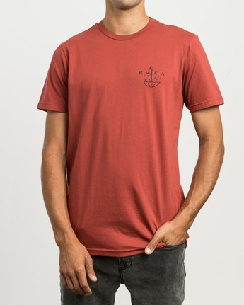2 Pommier Grim Times T-Shirt  M401SRGT RVCA