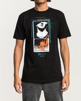 2 Mesopotamia T-Shirt Black M401SRME RVCA