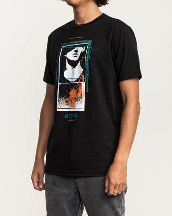 3 Mesopotamia T-Shirt Black M401SRME RVCA