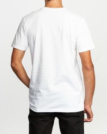 3 Balance Box T-Shirt White M401TRBA RVCA