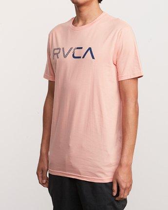 2 Blinded T-Shirt Orange M401TRBL RVCA