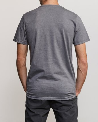 3 Blinded T-Shirt Grey M401TRBL RVCA