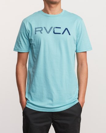1 Blinded T-Shirt Blue M401TRBL RVCA