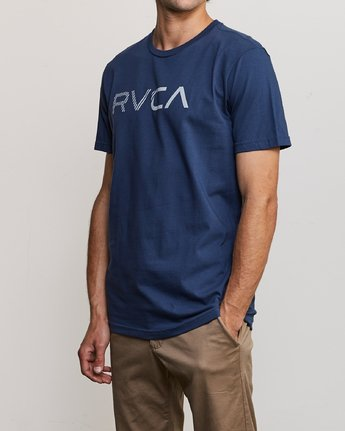 2 Blinded T-Shirt Blue M401TRBL RVCA
