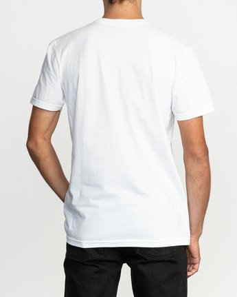 3 Blinded T-Shirt White M401TRBL RVCA