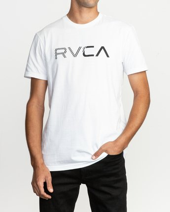 1 Blinded T-Shirt White M401TRBL RVCA