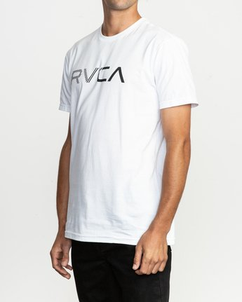 2 Blinded T-Shirt White M401TRBL RVCA