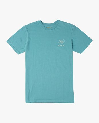 1 Pommier Eternal Struggle T-Shirt Blue M401TRET RVCA