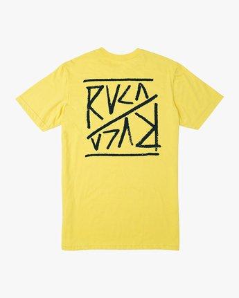 0 Flipper T-Shirt Yellow M401TRFL RVCA