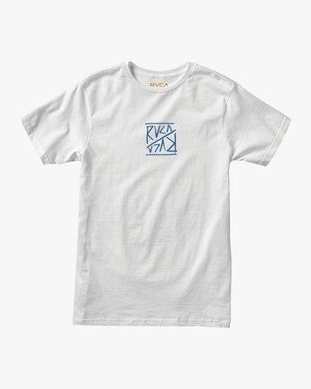 0 Flipper T-Shirt White M401TRFL RVCA