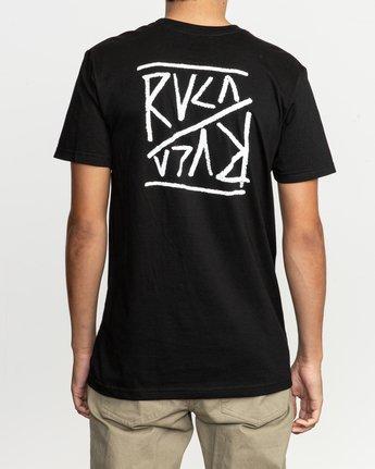 4 Flipper T-Shirt  M401TRFL RVCA