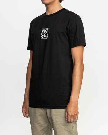 3 Flipper T-Shirt  M401TRFL RVCA