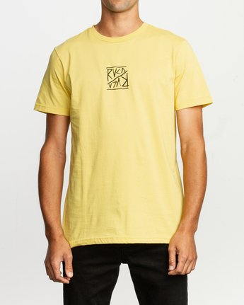 2 Flipper T-Shirt Yellow M401TRFL RVCA