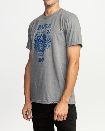 2 Dmote Mascot T-Shirt Grey M401TRMA RVCA