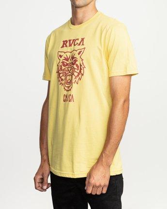 2 Dmote Mascot T-Shirt Yellow M401TRMA RVCA