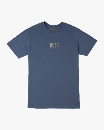 1 Mind Wrap T-Shirt Blue M401TRMI RVCA