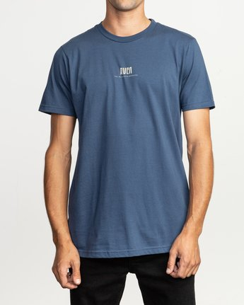 2 Mind Wrap T-Shirt Blue M401TRMI RVCA