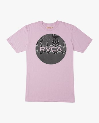 0 Motors Fill T-Shirt Purple M401TRMO RVCA