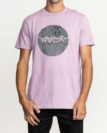 1 Motors Fill T-Shirt Purple M401TRMO RVCA