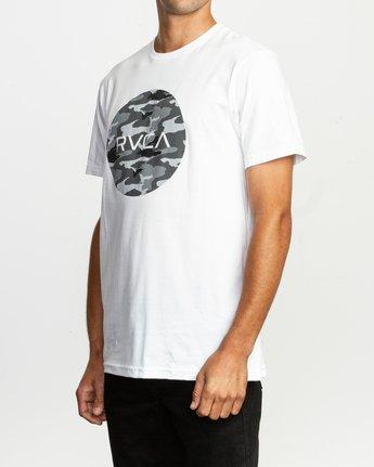 2 Motors Fill T-Shirt White M401TRMO RVCA