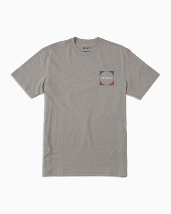 1 Motorstripe T-Shirt Grey M401TRMS RVCA