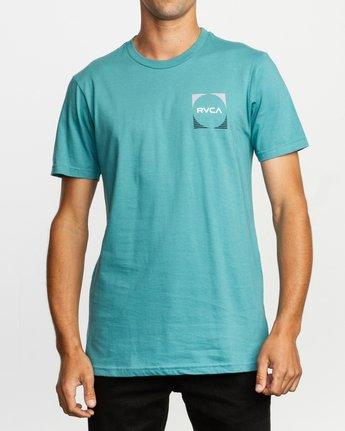 2 Motorstripe T-Shirt Blue M401TRMS RVCA