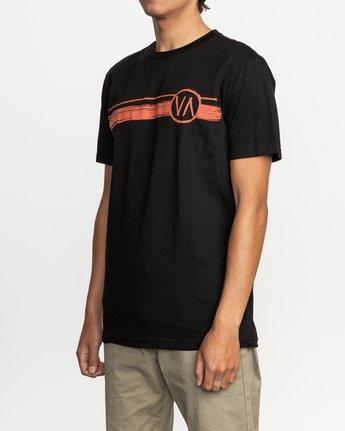 2 Ben Horton Off Track T-Shirt Black M401TROF RVCA