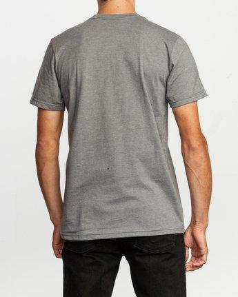3 Ben Horton Off Track T-Shirt Grey M401TROF RVCA