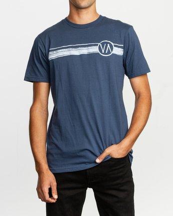 1 Ben Horton Off Track T-Shirt Blue M401TROF RVCA