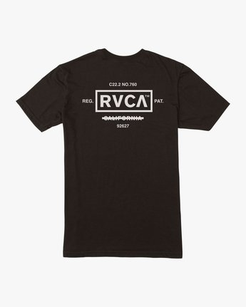 0 Oil And Water T-Shirt Black M401TROI RVCA