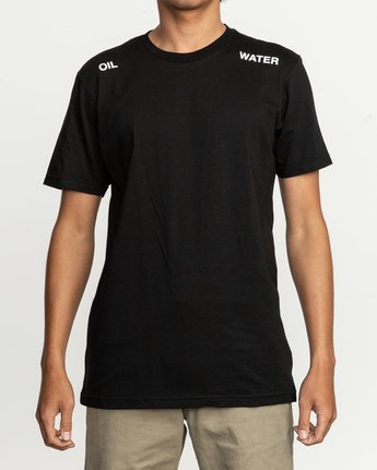 2 Oil And Water T-Shirt  M401TROI RVCA