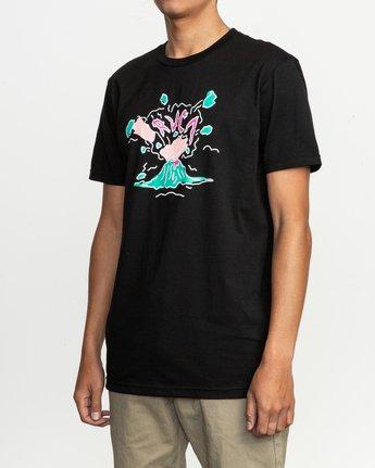 2 Ceddia Pompei T-Shirt Black M401TRPO RVCA
