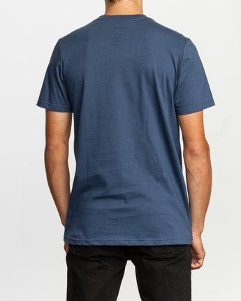 3 Repeated T-Shirt Blue M401TRRE RVCA