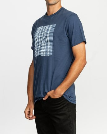 2 Repeated T-Shirt Blue M401TRRE RVCA