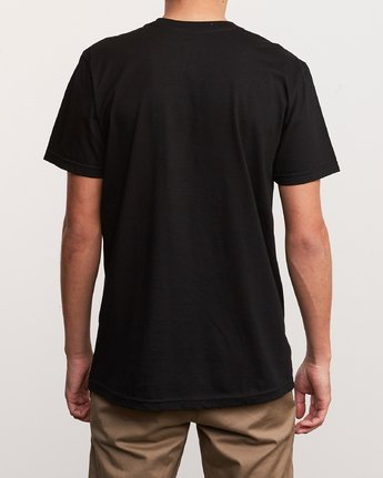 3 ATW Push T-Shirt Black M401URAT RVCA