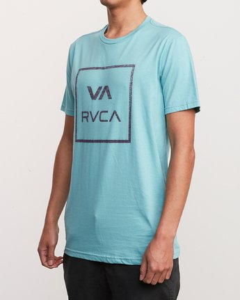 2 ATW Push T-Shirt Blue M401URAT RVCA