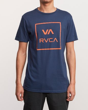 1 ATW Push T-Shirt Blue M401URAT RVCA