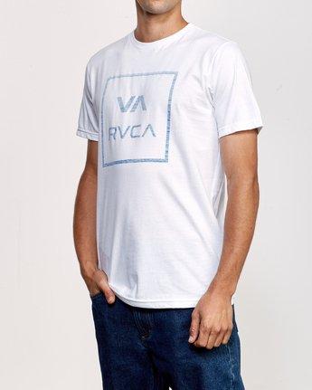 2 ATW Push T-Shirt White M401URAT RVCA