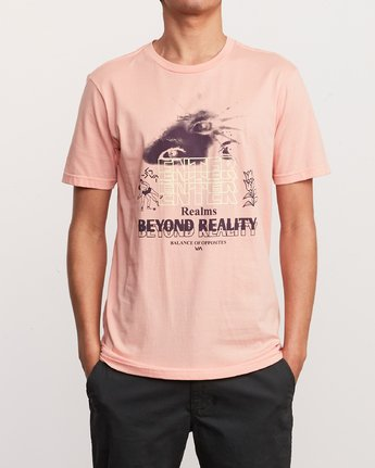 1 Alex Smith Beyond Reality T-Shirt Orange M401URBR RVCA