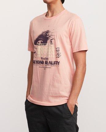 2 Alex Smith Beyond Reality T-Shirt Orange M401URBR RVCA