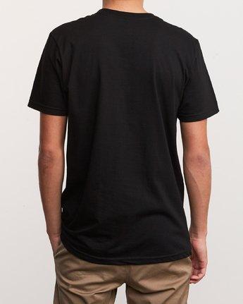 3 3D VA T-Shirt Black M401URDV RVCA