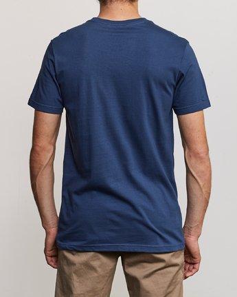 3 3D VA T-Shirt Blue M401URDV RVCA