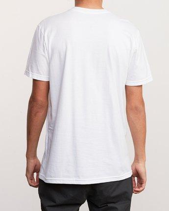 3 3D VA T-Shirt White M401URDV RVCA