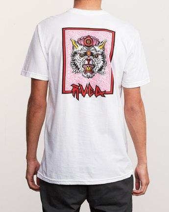 4 Redondo Monster T-Shirt White M401URMO RVCA