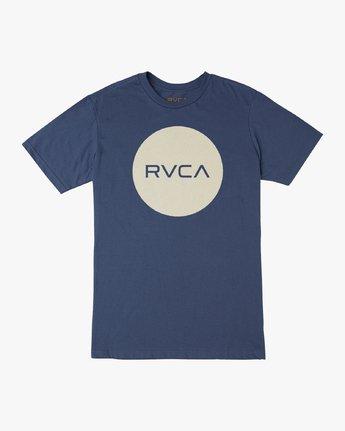 0 Motors Push T-Shirt Blue M401URMP RVCA
