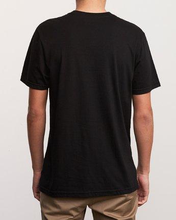 3 Motors Push T-Shirt Black M401URMP RVCA